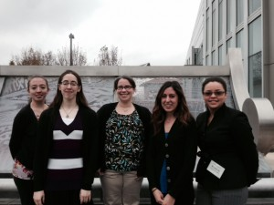 Brown lab at Crown Gall Meeting
